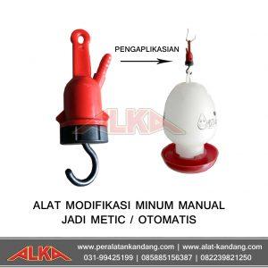 alat modifikasi tempat minum ayam manual ke otomatis